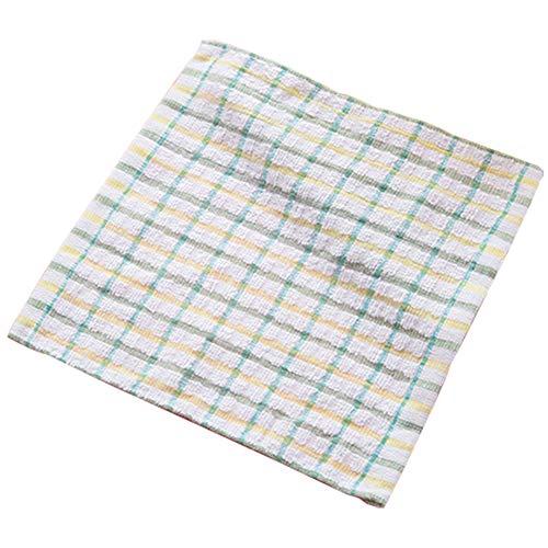 Demarkt Putztücher Reinigungstücher aus Baumwolle für die Reinigung in Haushalt und Küche Reinigungstücher/Putzlappen Set 24 * 24cm, 3 Stück