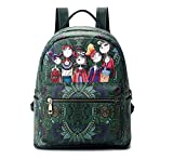 Best Vintage Backpack - Vismiintrend Girls Women Forest Print Vintage Ladies Top Review