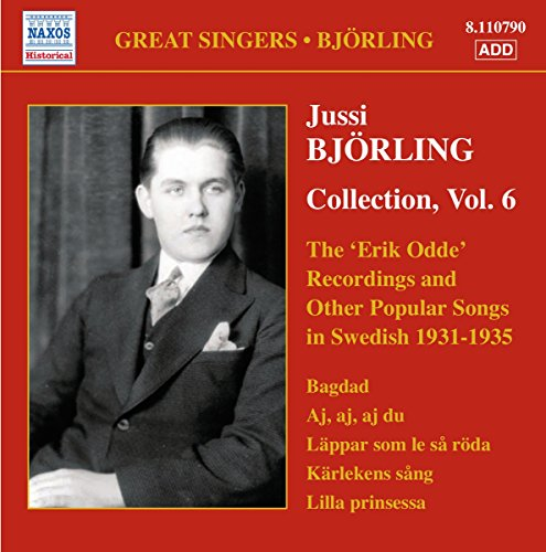 Bjorling, Jussi: Erik Odde Pseudonym Recordings and Other Popular Works (the) (1931-1935)