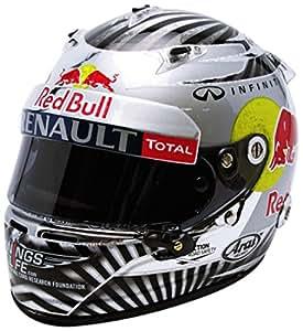 Minichamps - 321120201 - Véhicule Miniature - Modèle À L'échelle - Casques Vettel Sao Paulo 2012 - World Champion - Echelle 1/2