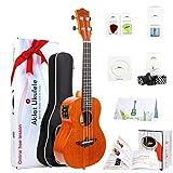 Best Tenor Ukuleles - Aklot Electric Acoustic Tenor Ukulele Solid Mahogany Ukelele Review