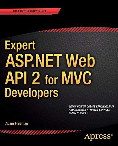 Expert ASP.NET Web API 2 for MVC Developers - Asp-net-web-api