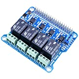 Relay_JMP function The relay control pin selects jumper. When selecting the jumper cap, you can use the Raspberry Pi to control the Relay 1. Short connect the Jumper: access to specified I/O in the sample program 2. Disconnect the Jumper, use the con...