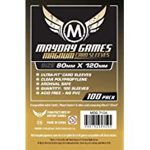 100 Mayday 80 x 120 Magnum Gold Ultra-Fit Board Game Sleeves