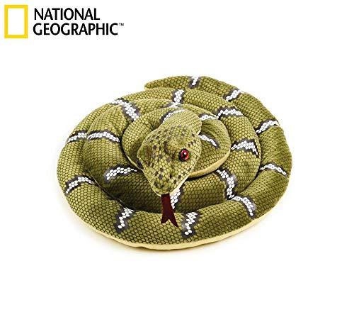 National Geographics Grand Animal en Peluche Naturel Serpent Taille M