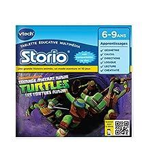 VTECH Jeu Storio 2 - Turtles, les tortues ninja