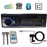PolarLander Autoradio Auto DAB + Radio Bluetooth Auto Stereo Audio mit DAB Antenne RDS FM AM MP3 USB SD Aux-in