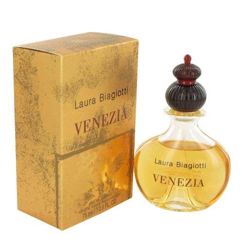 Laura Biagiotti Venezia femme / woman, Eau de Parfum, Vaporisateur / Spray, 1er Pack (1 x 75 ml)