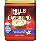 Hills Bros Cappuccino Sugar-Free French Vanilla, 12 Ounce by Hills Bros. Cappuccino