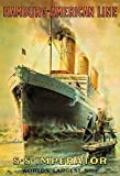 Schatzmix Hamburg-American Line SS Imperator blechschild