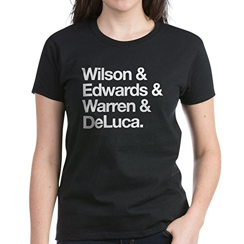 CafePress Grey's Intern Character Names Women's Dark T-Shirt - Womens Cotton T-Shirt