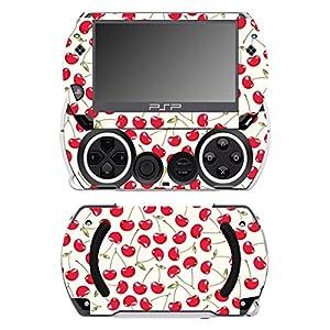 Disagu SF-14232_1077 Design Folie für Sony PSP Go – Motiv Kirschen Creme transparent