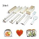 Hilai - Kit de création de sushis - 10pièces - Pour débutant et enfant