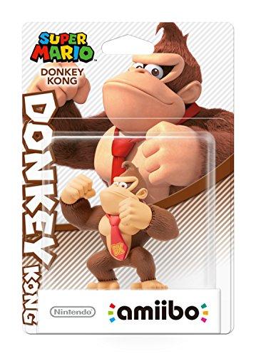 Nintendo 3DS - Amiibo Super Mario - Donkey Kong Figurina