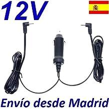 Cargador Coche Mechero 12V Reemplazo Reproductor DVD BELSON DUAL-81 v2 con 2 Salidas Recambio Replacement