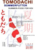 Koifutter, Sommerfutter für Koi mit Spirulina und Astaxanthin, Premium Koifutter von Tomodachi für überdurchschnittliches Wachstum und herrlich leuchtende Farben bei allen Koi, 2kg, 6mm schwimmende Koipellets