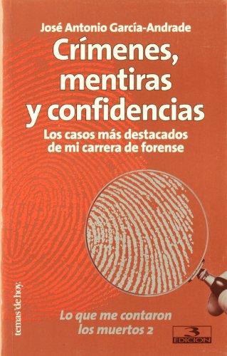 Crímenes, mentiras y confidencias
