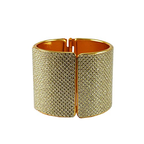 Golden Plain Brass Bangle Size-Free for Girls and Women