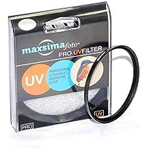 Maxsimafoto - Filtro UV para Objetivo 62mm / Protector para Objetivo Tamron SP 70-300mm f4-5.6 Di VC USD - Apto Canon & Nikon AF