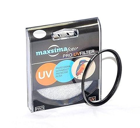 Maxsimafoto - Lentille filtre UV 62mm / Protection pour Tamron SP 70-300mm f4-5.6 Di VC USD - Canon et Nikon