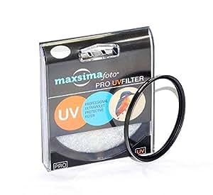 Maxsimafoto Filtre de protection UV 67 mm pour Nikon 85 mm f/1,8 G, AF-S Objectif Nikon P900 & appareil photo Bridge