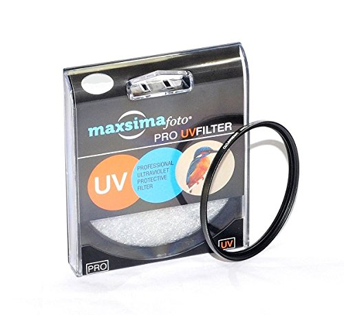 Maxsimafoto ® - 62 mm UV filter Protector für Panasonic Lumix DMC-FZ1000 Bridge Kamera, FZ1000EB, FZ1000.