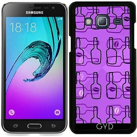 Funda para Samsung Galaxy J3 2015 (SM-J310) - Botellas by LoRo-Design