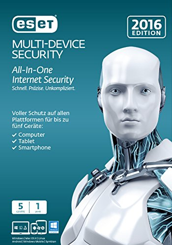 ESET Multi Device Security 2016 5 User [Mac Download]