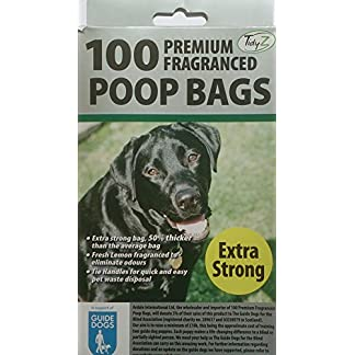 200 Premium poop bags/2 packs 100 5117llI1AoL