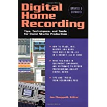 DIGITAL HOME RECORDING 2ND EDITION SOFTCOVER by Jon Chappell (2002-11-01)