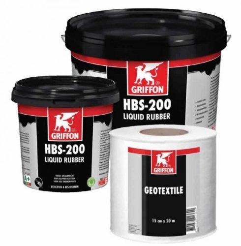 Preisvergleich Produktbild GRIFFON HBS-200 flüssiger Gummianstrich 1 Liter Topf
