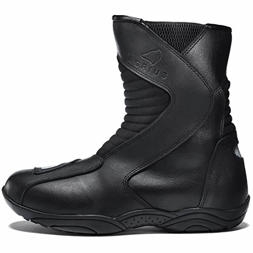 Agrius Delta Motorcycle Boots 43 Black (UK 9) - 2