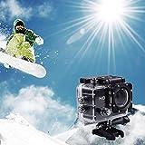 Haonike Registratore Impermeabile per videocamera Sportiva DV per Esterni HD...