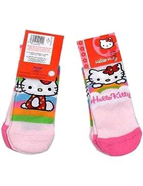 Hello Kitty Baby Mädchen (0-24 Monate) Socken rosa Rosa