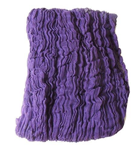 80cm di alta qualità trama fitta Bambino Ragazze 100% cotone mussola di cotone coperta Wrap fotografia Prop Purple 80cm