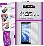dipos I 2X Schutzfolie klar passend für HTC U12 Life Folie Bildschirmschutzfolie