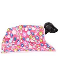 DOUGE COUTURE FLOWRAL Super Soft Cozy Dog Blanket