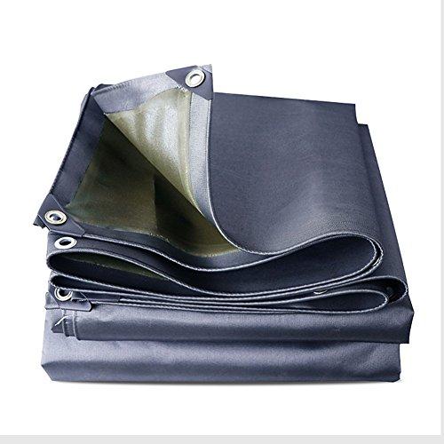 Mal addensare tela cerata antipioggia autoportante per esterno auto impermeabile e resistente all'usura (colore : gray, dimensioni : 3x6m)