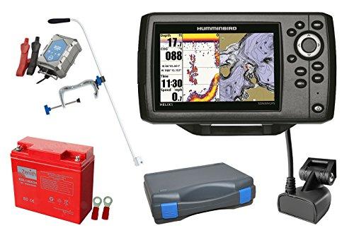 Humminbird Helix 5 CHIRP GPS G2 Echolot (83/200 kHz) Portabel-Set XXL-2 Humminbird Anzeigen