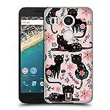 Head Case Designs Gatto Animali Primaverili Cover Dura per Parte Posteriore Compatibile con LG Nexus 5X