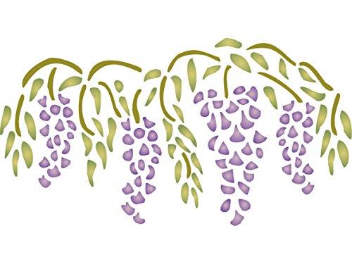 wisteria-diseno-de-tamano-405-x-215-cm-reutilizable-de-pared-plantillas-para-pintar-mejor-calidad-id