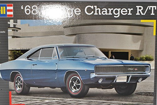 Revell Dodge Charger R/T Coupe 1968 Blau 07188 1/25 Bausatz Kit 1/24 Modell Auto