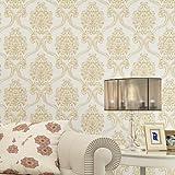 xiajingjing TV Hintergrund Wand _ die einfache Vlies im europäischen Stil Schlafzimmer Tapeten, tiefen 3D-Präzision Drücken Wohnzimmer TV Tapete JA508-2