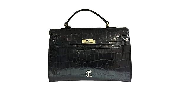 48d0ce77f4fd0 Cristinaeffe Borsa Donna - Mod. Borsa Ravenna - Colore Nero  Amazon.it   Scarpe e borse