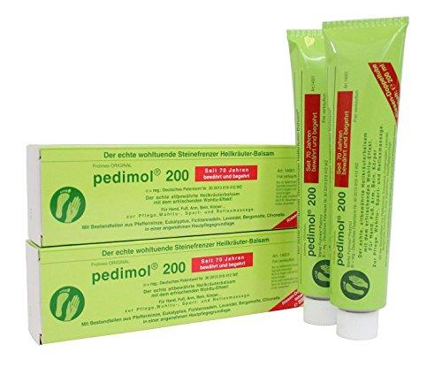2 Tuben Pedimol 200 - Eukalyptus-reiben