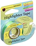 "Fluorescent Highlighter Tape .5""X720""-Green"