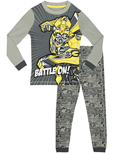 Transformers Schlafanzug - Slim Fit - 152 (Transformers Bumblebee Schlafanzug)
