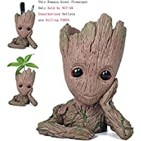 Pawaca Vaso per piante e fiori a forma di Groot piccolo di 'Guardiani della Galassia', utilizzabile anche come portapenne, ideale come regalo per bambini