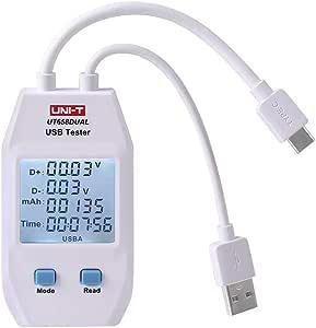Uni T Ut658 Digital Usb Tester Voltmeter Amperemeter Elektronik