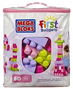 Mega Bloks Buildable Bag, 60 Pieces